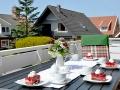 Terrasse - Ferienwohnung Ihno
